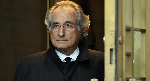 Bernie Madoff, the respected, former Chairman of the NASDAQ and investment advisor who went down in a Ponzi scheme scandal that had lasted from the ... - 8477687_orig