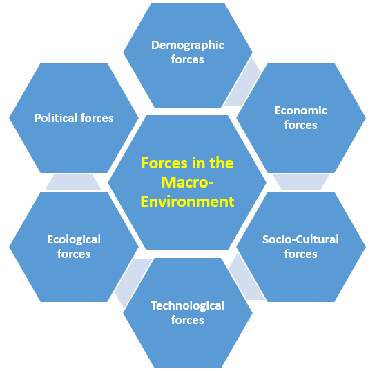 macro environment factors influencing human resource decisions and strategies of organisations Marketing environment  • the human resource department•  is used to describe a framework for the analysis of these macro environmental factors.